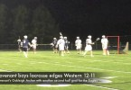 Covenant boys lacrosse edges Western