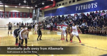 Monticello girls pull away from Albemarle