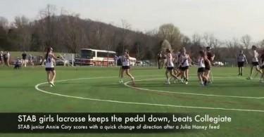 STAB girls lacrosse keeps the pedal down, beats Collegiate