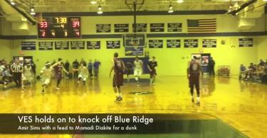 VES boys hoops holds off Blue Ridge