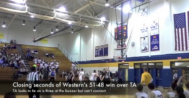 Western holds off TA in closing seconds