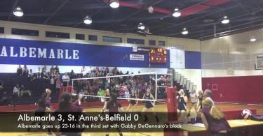Albemarle beats Stab volleyball 3-0