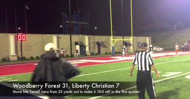 Woodberry football airs it out to beat LCA