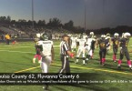 Louisa County's big first half vs. Fluvanna County