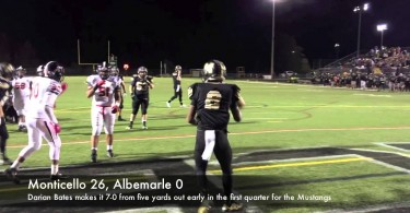 Monticello football rolls past Albemarle