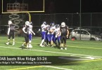 STAB football beats Blue Ridge 55-26