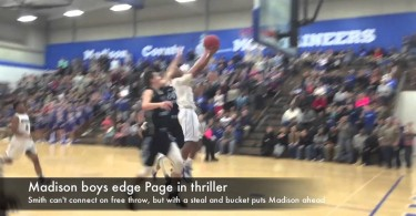 Madison boys edge Page in thriller