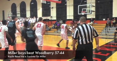 Miller boys beat Woodberry 57-44