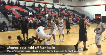 Monroe boys hold off Monticello