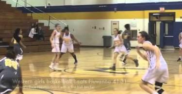 Western girls beat Fluvanna 41-31