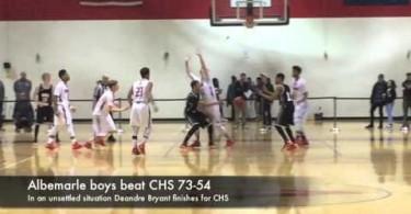 Albemarle boys beat CHS 73-54