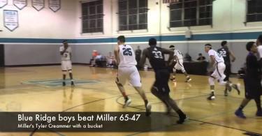 Blue Ridge boys beat Miller 65-47
