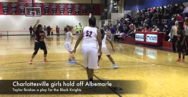 Charlottesville girls hold off Albemarle
