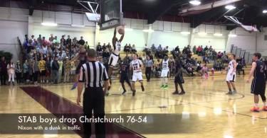 STAB boys drop Christchurch 76-54
