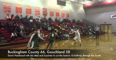 Knights and Bulldogs battle in the fourth quarter