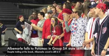 Albemarle boys fall to Potomac in state semifinals