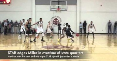 STAB edges Miller in overtime of state quarters