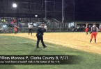 Monroe softball tops Clarke in 11 innings