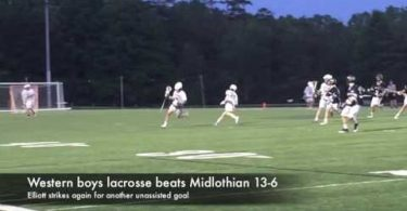 Western boys lacrosse beats Midlothian 13-6