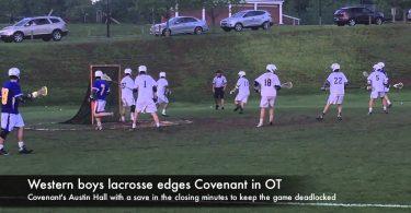 Western boys lacrosse edges Covenant in OT
