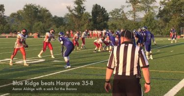 Blue Ridge beats Hargrave 35-8