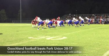Goochland football beats Fork Union 38-17