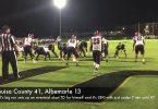 Louisa football holds firm against Albemarle