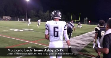 Monticello beats Turner Ashby 26-19