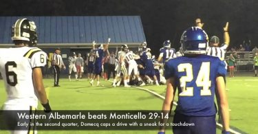 Western beats Monticello 29-14